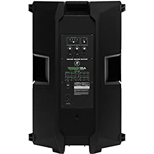 Mackie THUMP Series, 15-Inch 1300-Watt Loudspeaker with High Performance Amplifiers Built-in Mixers and Power Factor Correction - Black (THUMP15A)
