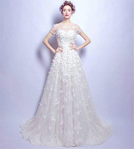 ELEGENCE-Z trouwjurk, aantrekkelijke jurk voor temperament, carnavalskostuum, maat S