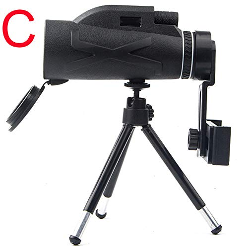 Fanville 80X100 Zooms Prisma - Telescopio óptico portátil (Alta resolución)