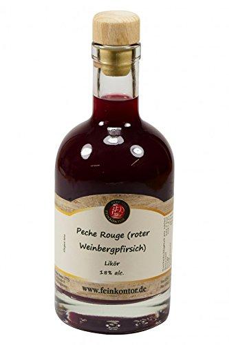 Peche Rouge (roter Weinbergpfirsich) Likör 350ml