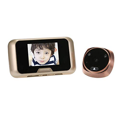 Electronic Peephole with Indoor 3.0inch Viewer Outdoor Peephole Camera