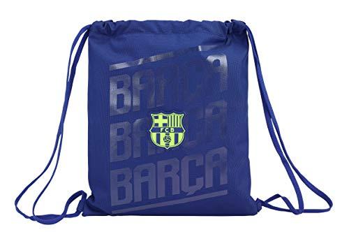 FCB FC Barcelona Saco Mochila Plano Cuerdas 35 x 40 cm.