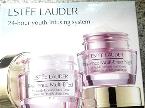 Estee Lauder Resilience Multi Effect Tri Peptide 2x15ml Creme Tag und Nacht