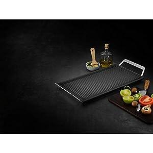 AEG A9HL33 Mastery Collection Plancha con asas, Negro, Acero inoxidable