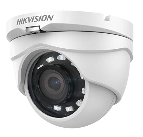 Hikvision Turbo HD Analog 1080P/2MP 4-in-1 IR Turret Camera DS-2CE56D0T-IRMF(2.8mm)