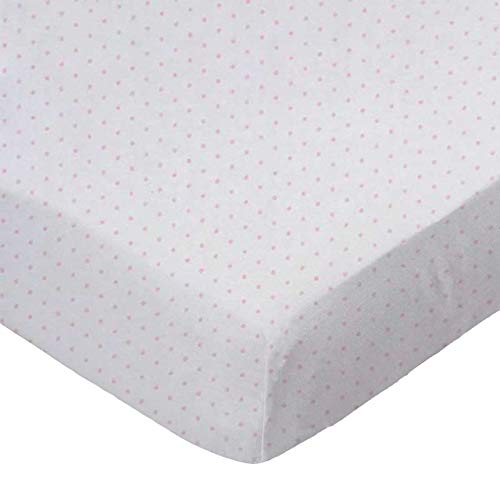 Amazing Deal SheetWorld 100% Cotton Jersey Extra Deep Fitted Portable Mini Crib Sheet 24 x 38 x 5.5,...