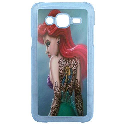 Lapinette COQUE-J5-ARIEL-SIRENE - Funda Carcasa para Samsung Galaxy J5 diseño Princesa Disney Tatuada 8