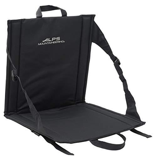 ALPS Mountaineering Weekender Seat, Black, 17' x 33' x .5'