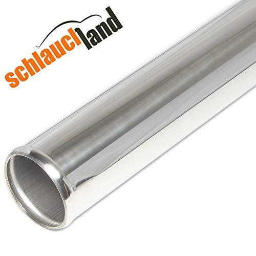 Schlauchland Alu-Rohr 1,00 m AD 60mm*** Alurohr Aluminium Rohr Ansaugrohr Ladeluftrohr Turbo