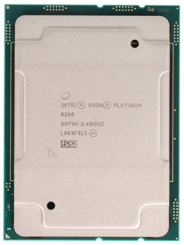 Intel Xeon Platinum 8260 Prozessor (24 Core, 2,40 GHz, 36 MB, 165 W, CPU, CD8069504201101)