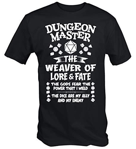 6TN Mens Dungeon Master T Shirt (Medium) Bl