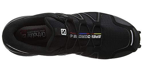 Herren Speedcross 4, Trailrunning-Schuhe, schwarz - 11