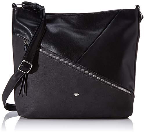 TOM TAILOR Damen Taschen & Geldbörsen Hobo-Tasche BERGAMO schwarz/black,OneSize