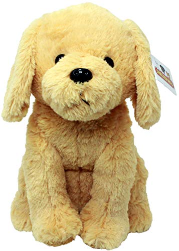 Shelter Pets: Stitch The Dog - 10' Golden Retriever Plush Toy Stuffed Animals - Based on Real-Life Adopted Pets - Benefiting The Puppy and Dogs Animal Shelters They were Adopted from - Plushies