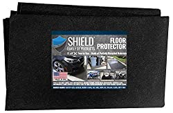 cheap Shield Family Protective Floor Cover-Premium Oil Absorption Mat-Reusable / Durable / Waterproof-…