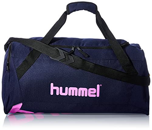 hummel SPORTS BAG Black Iris/Sugar Plum L
