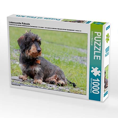 CALVENDO Puzzle Liebenswerter Rabauke 1000 Teile Lege-Größe 64 x 48 cm Foto-Puzzle Bild von Barbara Mielewczyk