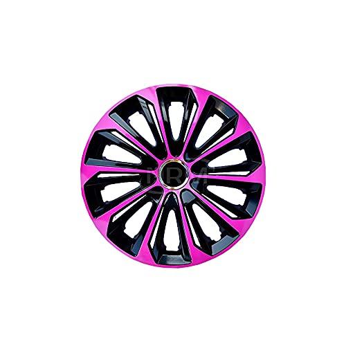 Radzierblende Extra STRONG pink/schwarz 14 Zoll 4er Set