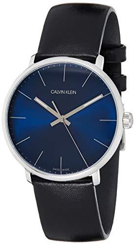 Calvin Klein Reloj Analógico-Digital para Unisex Adultos de Cuarzo con Correa en Cuero K8M211CN