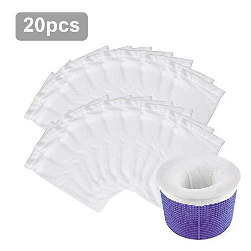 qianele Whirlpool Zubehör, Pool Skimmer Socken Langlebige Elastische Pool Filter Saver Socken Netz Für Filterkörbe