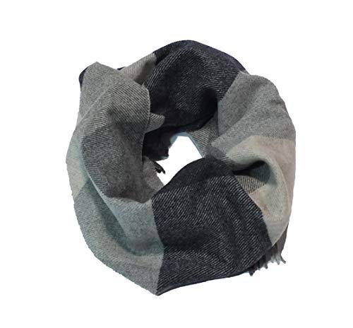 Neweave MILANO geruite sjaal van 100% merino-wol, Made in Italy