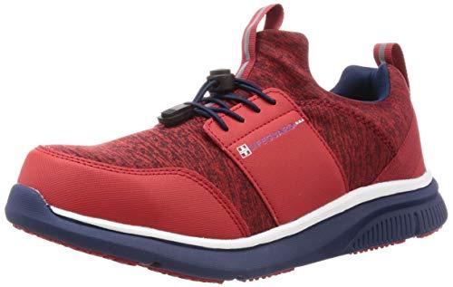 [ライフガード] ケイワーク・セーフティースニーカー・作業靴・安全靴 LA-03 メンズ レッド 26.5 cm