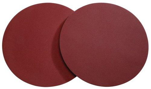 Woodstock D1342 20-Inch Diameter PSA 60 Grit Aluminum Oxide Sanding Disc, 2-Pack