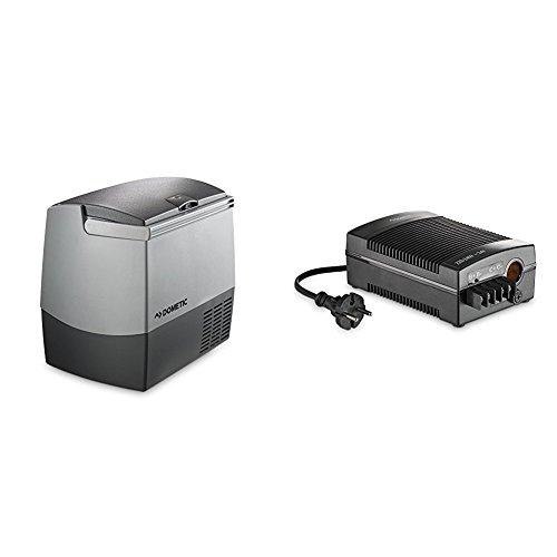 Dometic Coolfreeze CDF-18 Kompressor-Kühlbox für Normal- und Tief-Kühlung, Gefrierbox, 18 l Anschlüsse für Auto und Truck - Mini-Kühlschrank, Gefrier-Schrank + Gleichrichter CoolPower EPS - DOMETIC