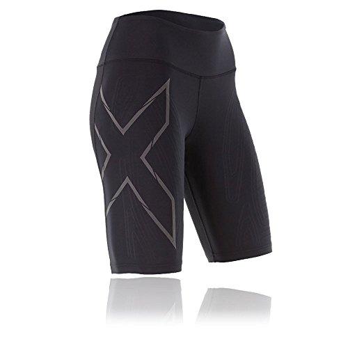 2XU Women's Mcs Run Compression Shorts, Black/Nero, Medium