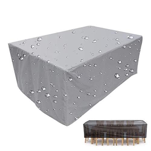 XGG Fundas para Muebles de Jardin Cubierta de Muebles de Jardín Impermeable Anti-UV 210D Poliéster Protección Exterior Muebles de Jardín Sofá, Mesa, Silla70.86 * 59 * 31.5in