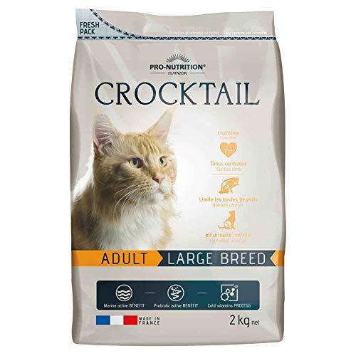 Flatazor - Croquettes CROCKTAIL Adult Large Breed pour Chat - 2Kg