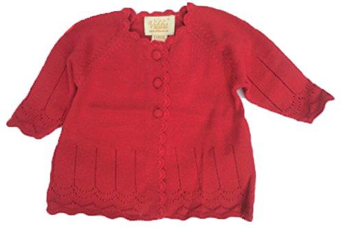 Viddia - Pull - Bébé (garçon) - Rouge - 3-6 mois