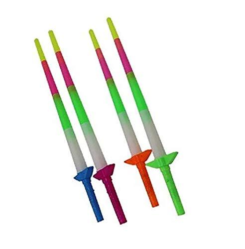 Gwill 5 unidades ajustables LED multicolor para conciertos, fiestas, clubes, etc. Color aleatorio