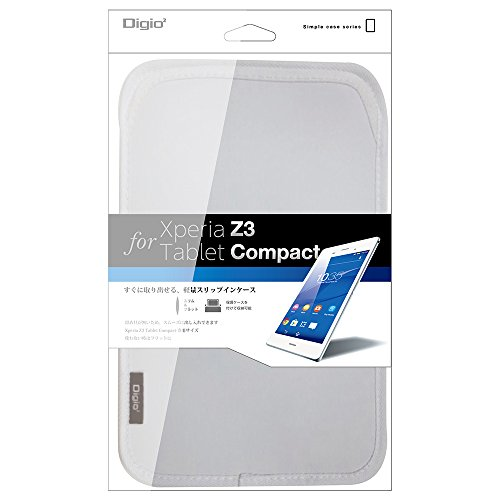 Sony Xperia Z3 Tablet Compact 用 スリップインケース ホワイト TBC-XPC1403W