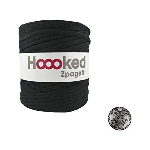 KIYOHARA Hooked Zpagetti (フックドゥズパゲッティ) コンチョボタン 鳥 30mm セット Black