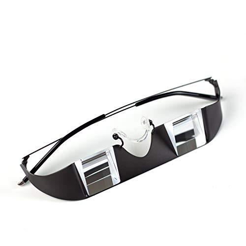 TOPSIDE Sicherungsbrille 2.0 - Leichter Metallrahmen mit hochwertigen Prismen (inkl. Sportetui und Brillenband)