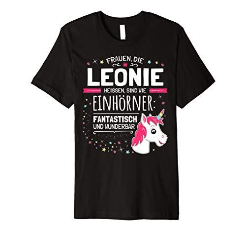 Leonie Name Lustiges Vorname Einhorn Geschenk