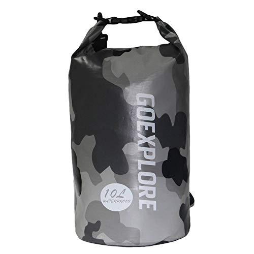 N-B Swimming Backpack Lightweight Portable Dry Bag 20 Liters Waterproof Rafting Diving Folding River Hiking Outdoor Gym