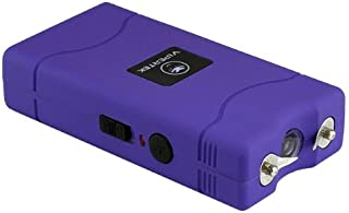 VIPERTEK VTS-880 – 30 Billion Mini Stun Gun – Rechargeable with LED Flashlight, Purple