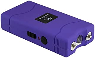 VIPERTEK VTS-880 – 30 Billion Mini Stun Gun – Rechargeable with LED Flashlight, Purple