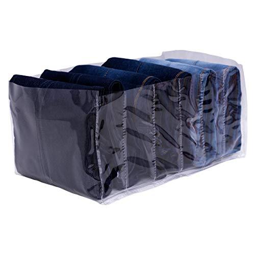 Organizador de Calça Jeans Colmeia em PVC Cristal