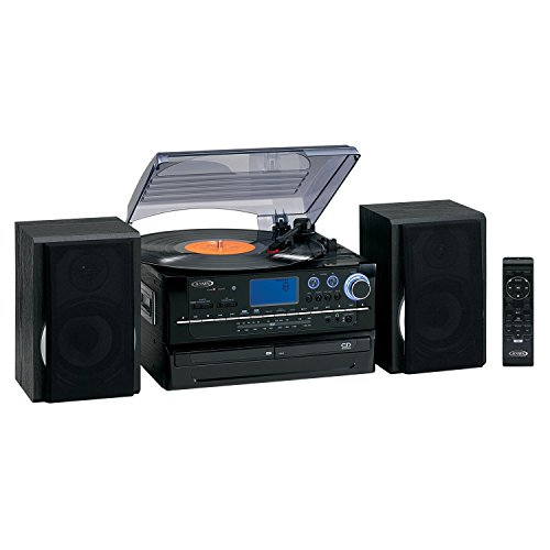 Review Of Spectra Merchandising JEN-JTA-980 3-Speed Turntable with 2 CD player/