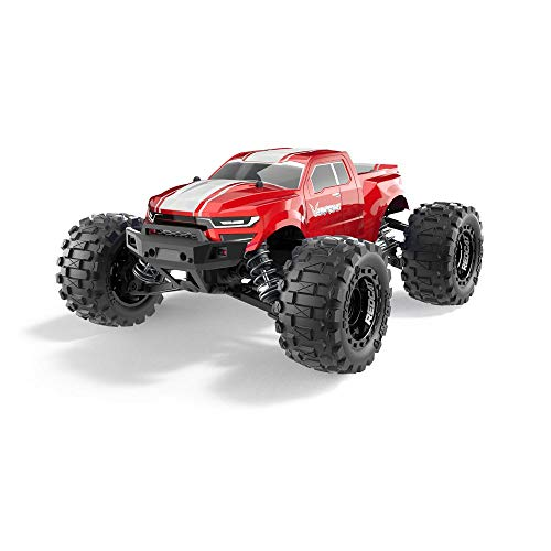 Volcano-16 1/16 Scale Monster Truck - Red