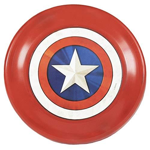 Cerdá - For Fan Pets   Frisbee per cane di Capitan America/Avengers - Licenza ufficiale Marvel®