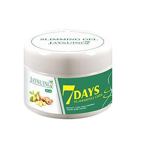 fuchsiaan Crema adelgazante para el abdomen, fácil de absorber figura que moldea el cuerpo para fitness, pierde peso, promueve la quema de grasa abdominal de 10 g