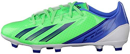 adidas F10 TRX FG - Botas de Fútbol de Material sintético Hombre Green Zest/Joy Blue/Dark Blue Talla:39 1/3