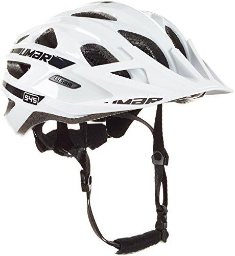 Limar Fahrradhelm 545 MTB Sport Action Radhelm, White Black, M
