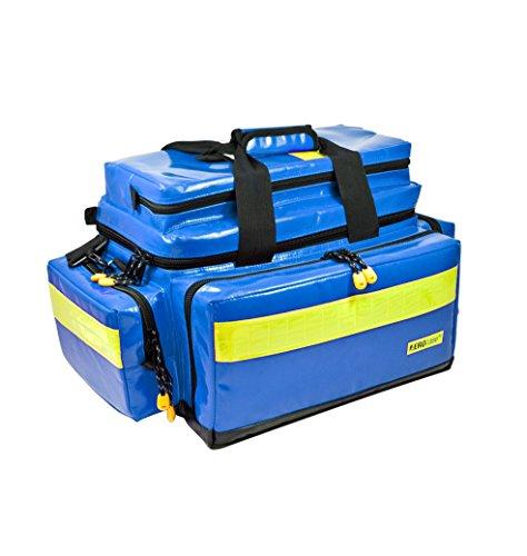 Notfalltsche - Erste Hilfe Tasche - gefüllt, Plane, blau DIN 13157