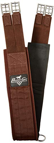 Professionals Choice Equine Smx English Girth (Size 54-Inch, Brown)