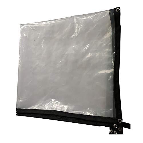 PENGFEI Bâche De Protection Transparent Jardinage Fleurs Tissu Imperméable Coupe-vent Durable, Polyéthylène, 22 Tailles (Couleur : Clair, taille : 2X2m)